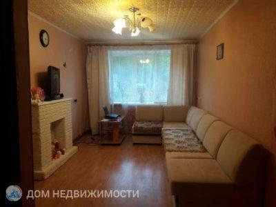 3-комнатная квартира, 59 м2, 1/2 эт.