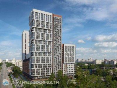 2-к квартира ЖК Русь, 65 м2, 2/29 эт.