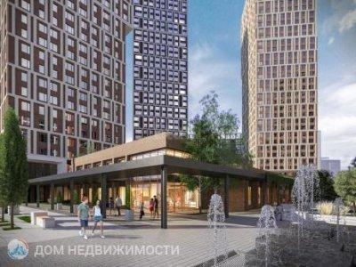 4-к ЖК «Парковый квартал», 95 м2, 30/34 эт.