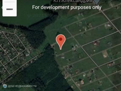 Земельный участок 11 соток, 0/0 эт.