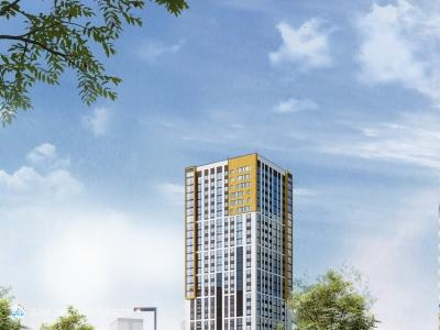 ЖК REPIN TOWERS, 30 м2, 7/29 эт.